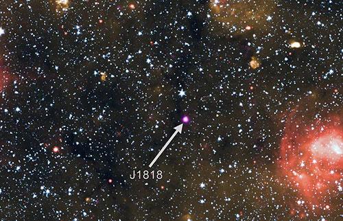 这可能是整个银河系中最快的磁星