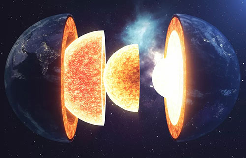在30亿年前的大规模增长中,地球的外壳膨胀