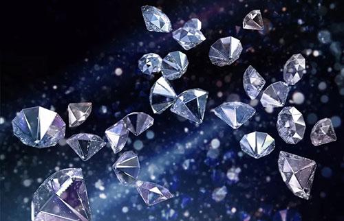 钻石需要电击才能在地球深处结晶