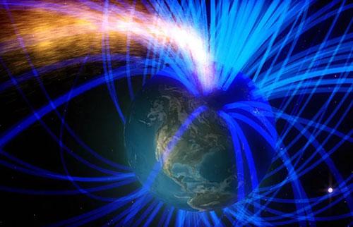 """地球磁场翻转了42,000年前,造成了气候""""灾难"""""""