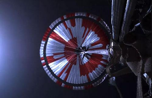 火星探测器的降落伞中有一个秘密密码