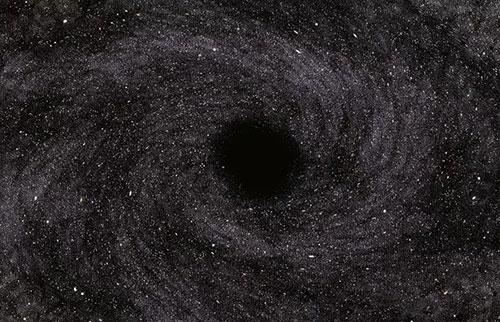实验室生长的黑洞就像霍金所说的那样