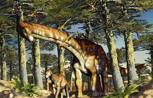 """这个""""忍者巨人""""是有史以来最古老的泰坦恐龙"""
