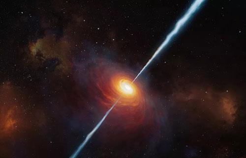 宇宙最古老的类星体发现距离我们130亿光年