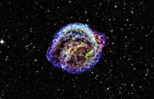 """放射性""""雪花""""就像宇宙中最小的核弹一样"""