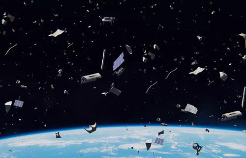 微小的太空垃圾如何造成难以置信的破坏?