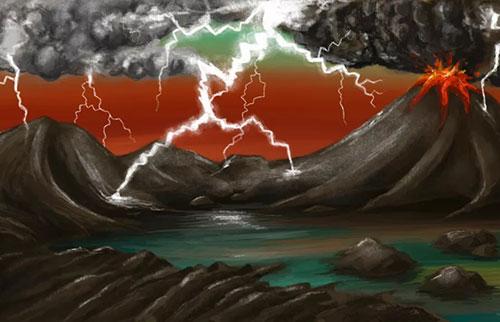研究表明:数十亿个闪电可能会启动地球上的生命
