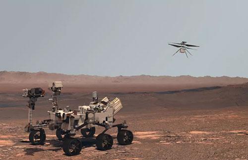 莱特兄弟的第一架飞机现在在火星上