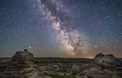 """天文学家发现银河系""""最安全的地方"""""""