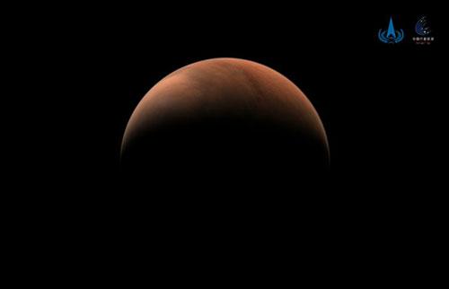 中国的天文一号拍摄了令人惊叹的火星照片