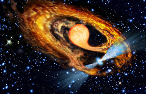 """在球状星团中发现了8个极为罕见的""""毫秒脉冲星"""""""