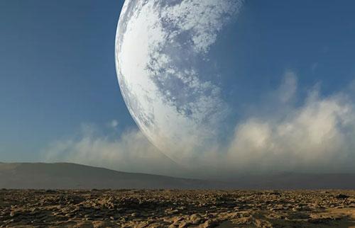 如果月球离地球的距离是地球的两倍会发生什么?