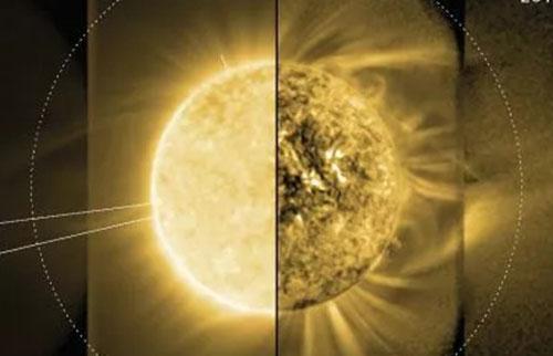科学家第一次看到太阳中间日冕可以提高太空天气预报