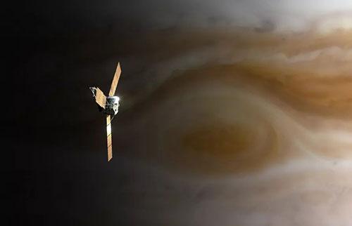 宇宙飞船能飞过像木星这样的气态巨行星吗?