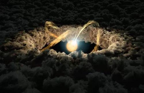 """年轻恒星上密集的""""热点""""揭示了地球太阳在其婴儿期时的样子"""