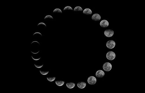月亮会自转吗?