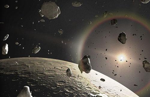 在海王星之外发现了具有奇怪轨道的宇宙物体