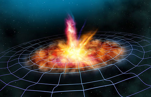 新的引力波探测器从时间之初就接收到可能的信号
