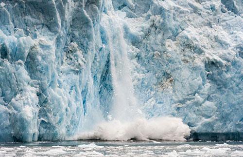 消失的冰正在扭曲地壳